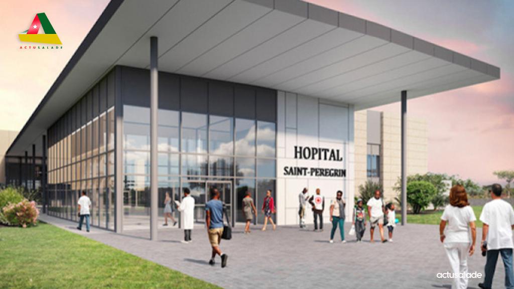 hôpital Saint Pérégrin sera livré début juillet