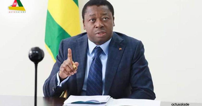 Photo du Président Faure Gnassingbé pour illustrer le texte