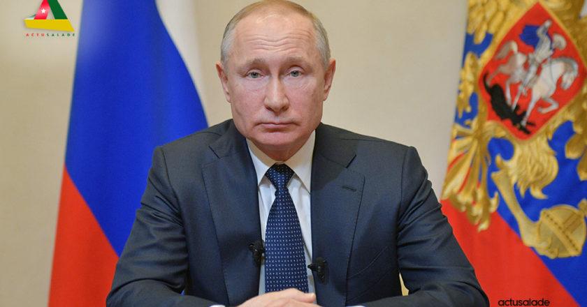 Vladimir Poutine adresse ses mots de « Félicitations » au peuple togolais