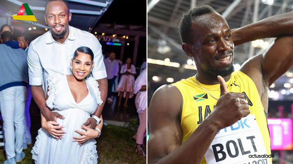 La photo de Usain Bolt et sa femme