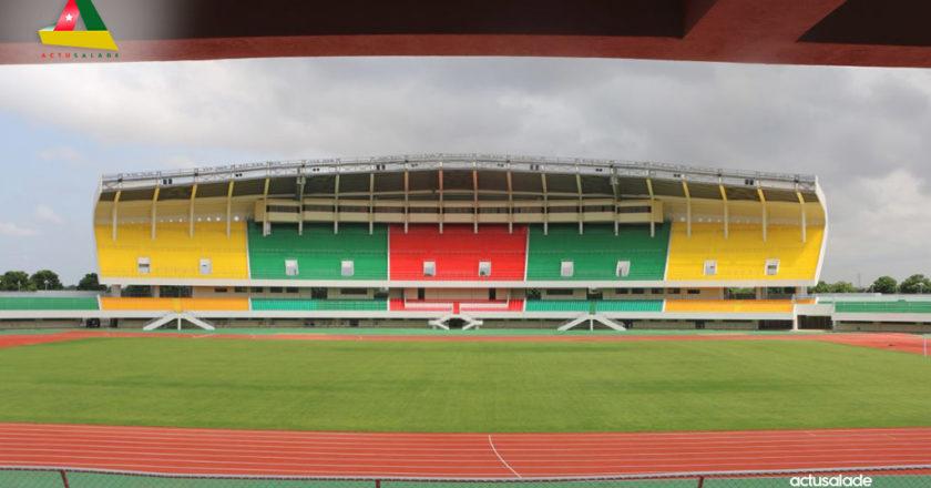 Le stade de Kegué renové