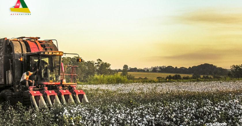 Photo d'un tracteur agricole