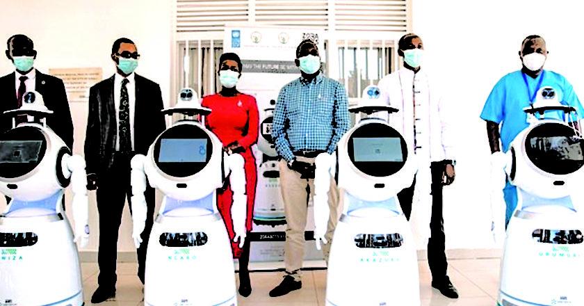 Rwanda Robots Covid