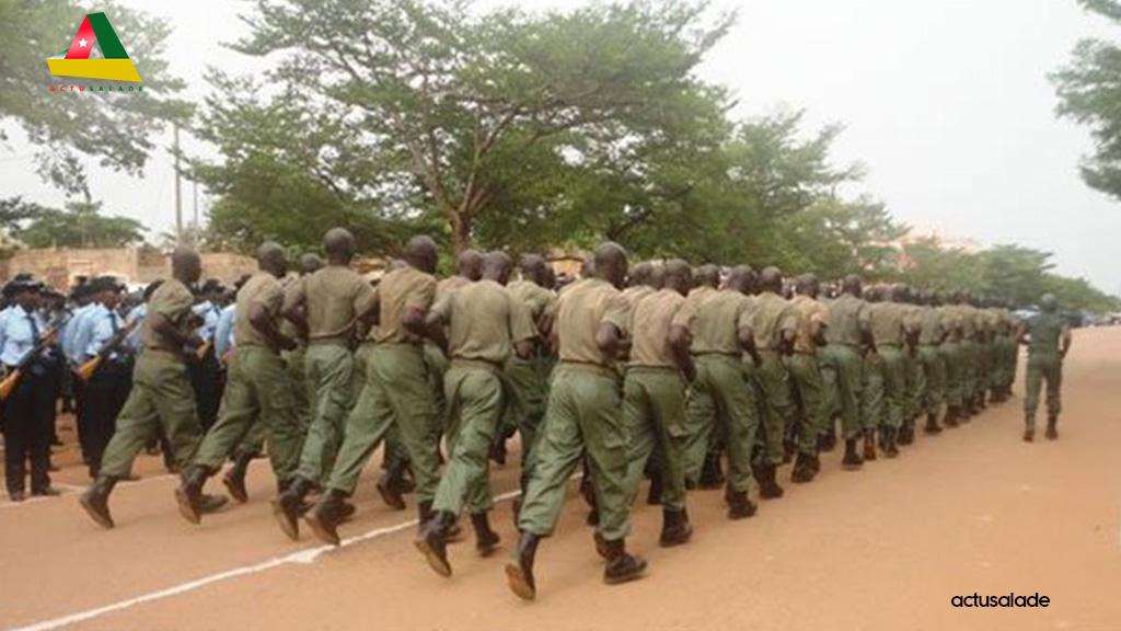 Burkina-Faso fin de parcours pour 93 élèves sous-officiers