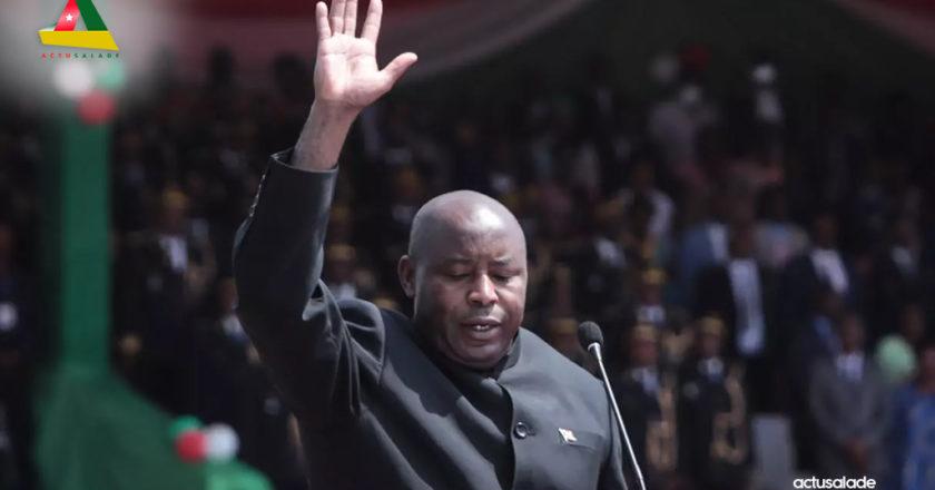 Burundi Évariste Ndayishimiye prend les rênes du pays