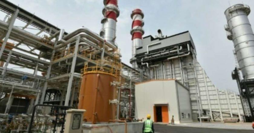 Centrale thermique KEKELI, une turbine à gaz de marque siemens