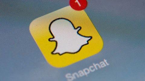 le-logo-de-l-application-mobile-snapchat