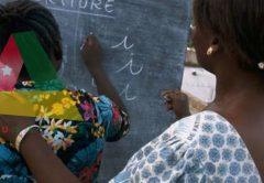Alphabétisation au Togo