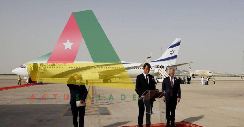 Un avion israélien sur le tarmac de l'aéroport d'Abou Dhabi
