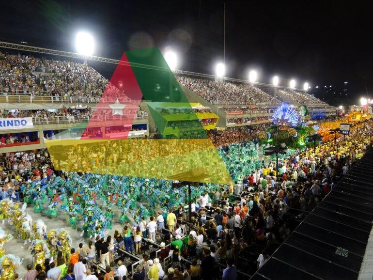 le célébrissime carnaval de Rio reporté
