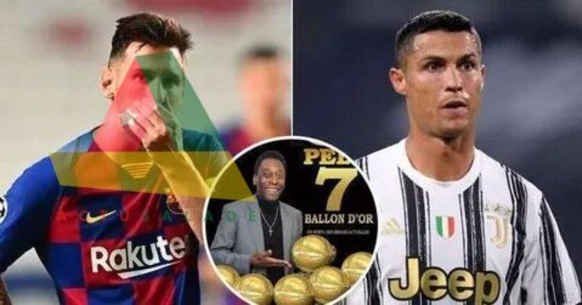 Pelé a remporté plus de Ballon d'Or que Lionel Messi ou Cristiano Ronaldo&