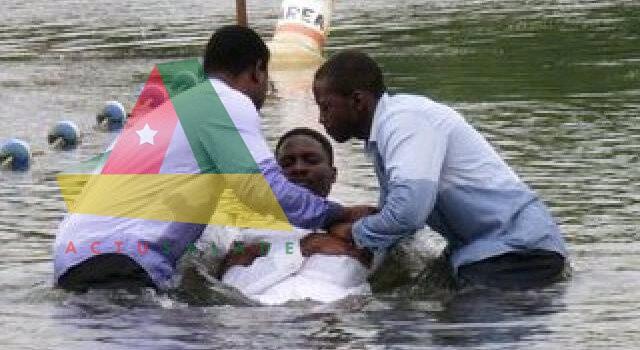 deux fidèles d'une église emportés par les eaux lors d'un baptême