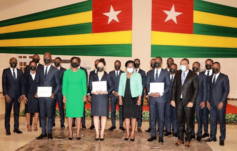 Togo: 20 nouveaux diplômés pour apporter leur plus-value au PND