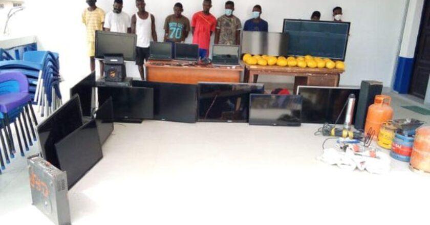 Togo: la Police Nationale démantèle de nouveau un vaste un réseau de cambrioleurs