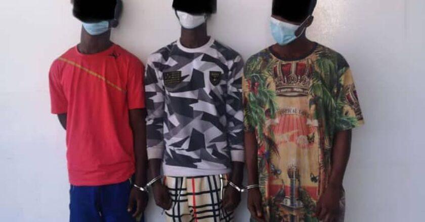 Togo : vol le long de la plage, bars, gares routières et grand marché de Lomé, la Police a mis la main sur trois individus