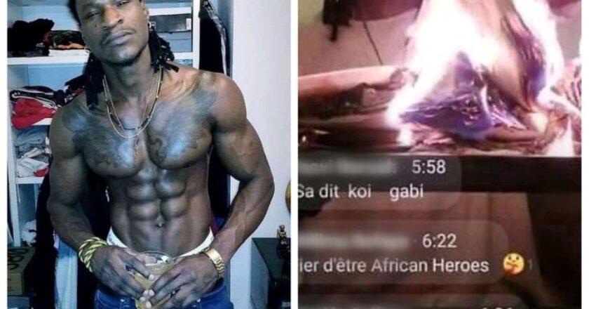 Faits divers : après ce pasteur ꞌꞌ déchu ꞌꞌ qui a brulé la Bible, le rappeur Yayoo emboîte aussi le pas (photo)