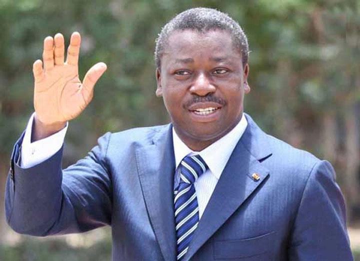 le président Faure Gnassingbé aux côtés des populations d'Agou