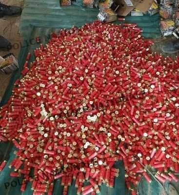 Criminalité : la Police a saisie 3750 cartouches de calibre 12mm ce vendredi