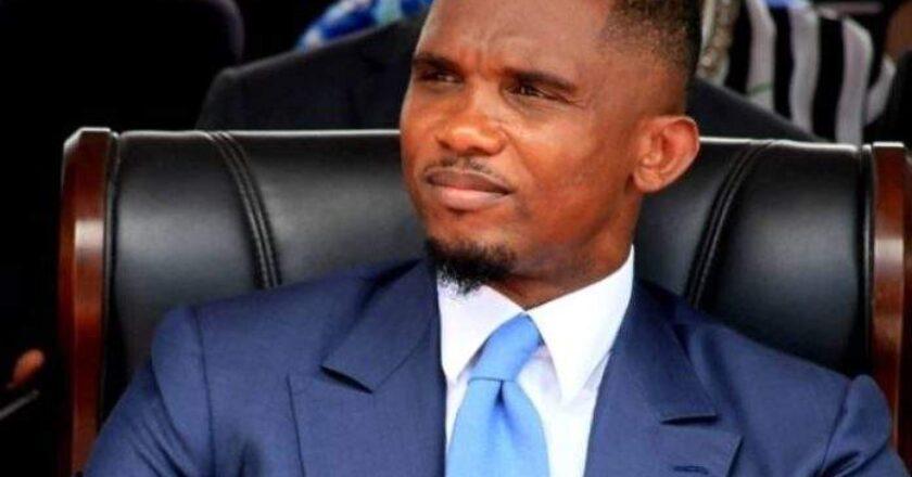 Togo : en visite à Lomé, Samuel Eto'o rencontre Faure Gnassingbé