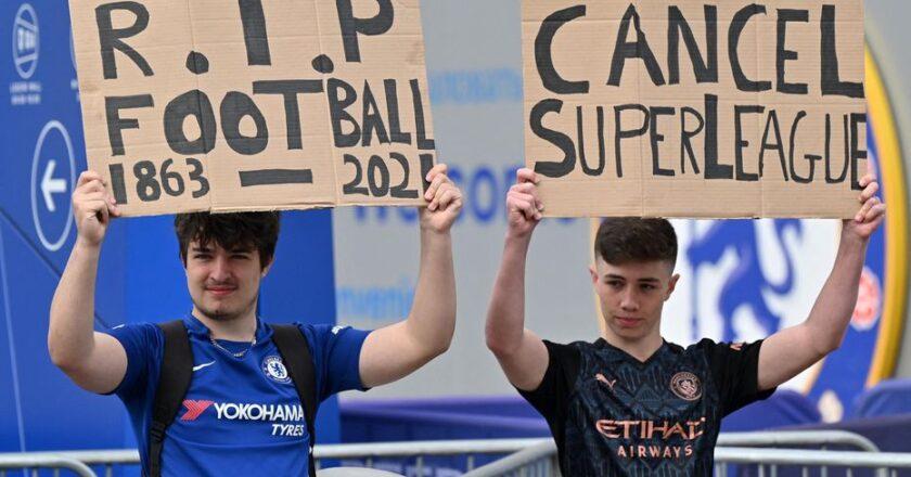 Football / Officiel : la super ligue est morte