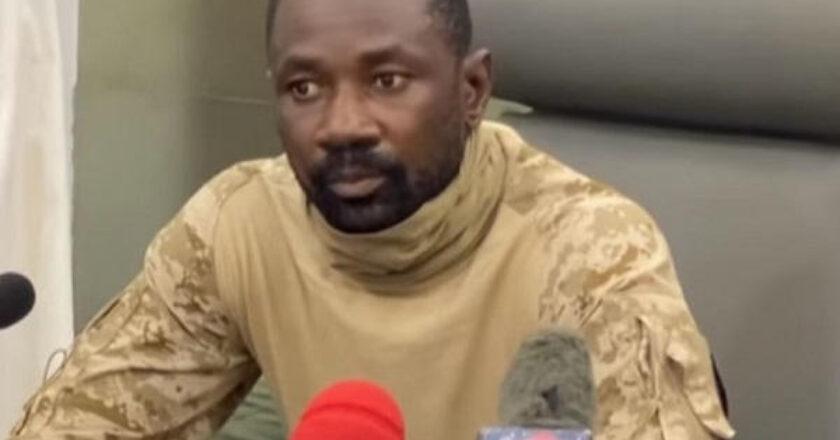 Coup d'Etat au Mali : le Vice-président Assimi Goita explique les motivations des militaires