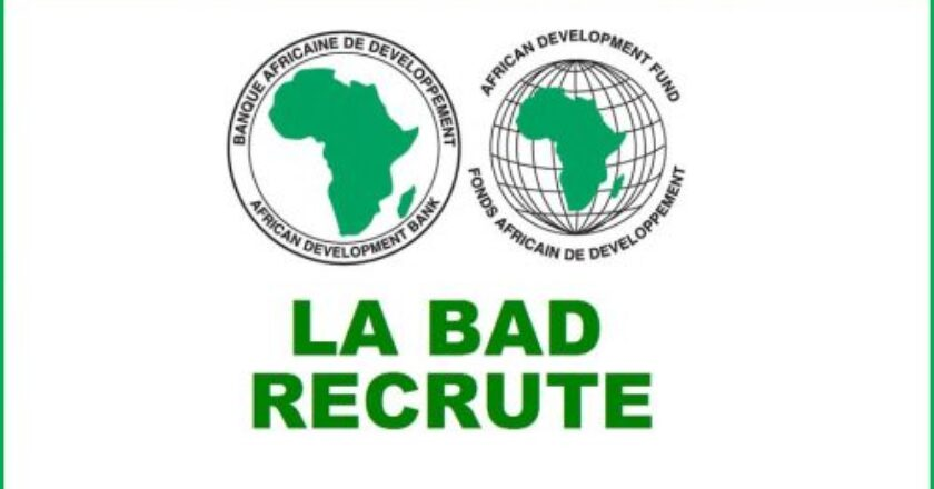 La BAD recrute un Chef de division, Interprétation, CHLS3