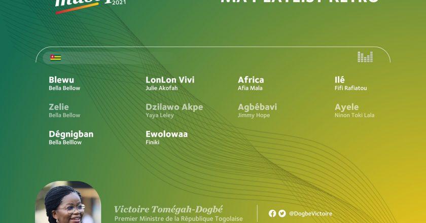 Musique : voici la playlist des artistes togolais les plus écoutés par le Premier ministre Victoire Dogbé