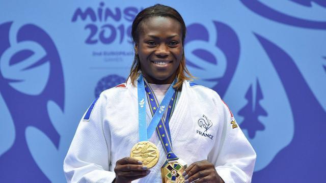 JO Tokyo 2020 : Clarisse Agbégnénou bat un poids lourd du judo et remporte la médaille d'or