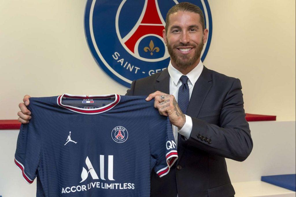 Sergio Ramos signe à Paris Saint-Germain