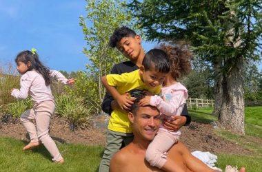 Ronaldo et sa famille quittent leur nouveau manoir de 6 millions de Livres sterling pour cette raison