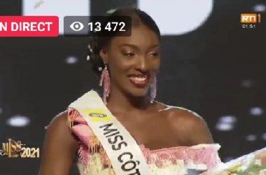 Miss Côte d'Ivoire 2021 : YACE Olivia remporte la couronne