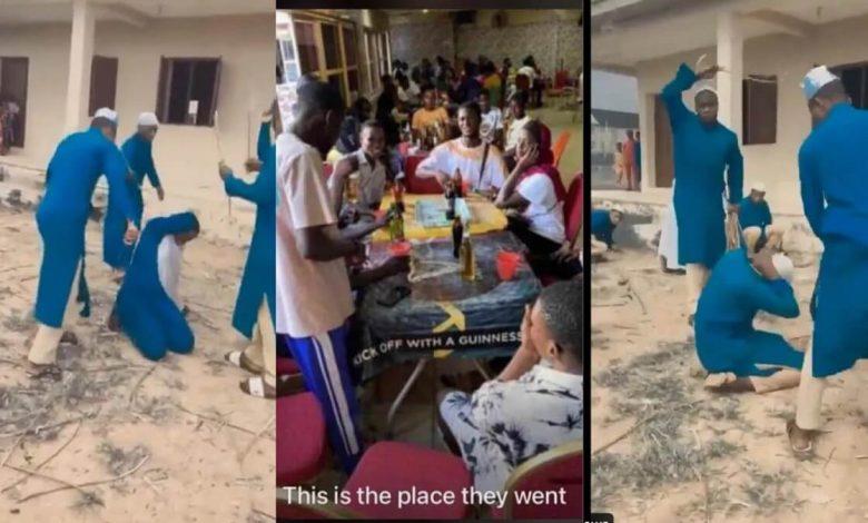 des élèves musulmans brutalisés par les enseignants pour avoir pris de l'alcool lors d'une fête
